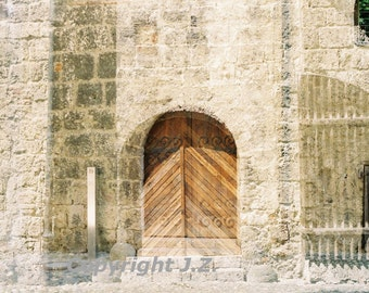 Castle Gate, Burghausen, Print, Fine Art Photography, Double Exposure,