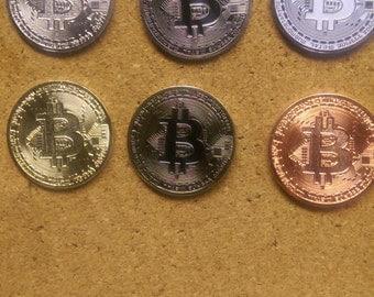 BitCoin lapel/hat pin