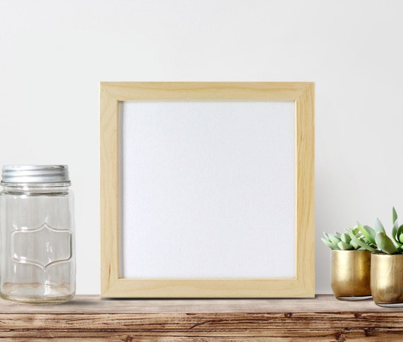 12x12 unfinished wood frames square frame by for Unfinished wood frames for crafts