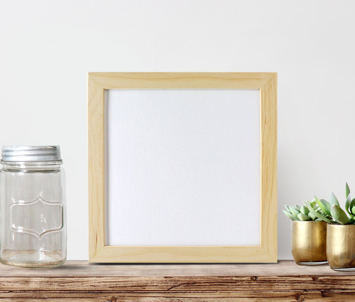 12x12 Unfinished Wood Frames Square Frame by ...
