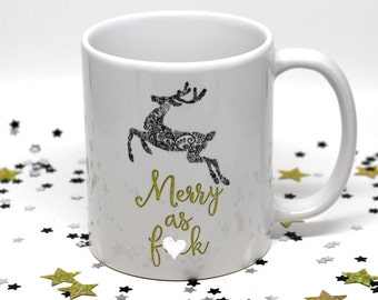 Gift for Her, Gift for Him, Christmas Gift, Holiday Gift, Christmas Mug, Holiday Mug, Coffee Mug, Coffee Cup, White Elephant Gift