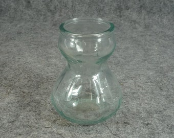 Vintage Product Of EEC Glass Vase Hint Of Green Tint C.1970s