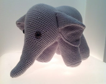 Crochet Elephant Soft Toy