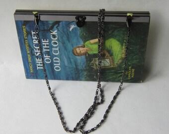 Handbags made from books: Classic Nancy Drew Books made into handbag