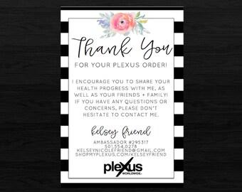 Plexus BW Thank You Card DIGITAL FILE