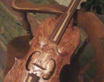 Delux hand carved Lira da Braccio