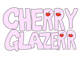 cherry glazerr t-shirt