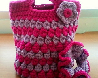 30% OFF ENTIRE PURCHASE Coupon Code (CBE30) Crochet Kids Purse And Hair Scrunchie