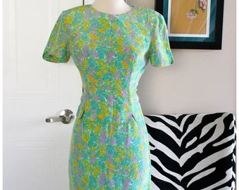 Maggie London Petite vintage floral dress