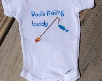 Dad's Fishing Buddy - Short or Long Sleeves
