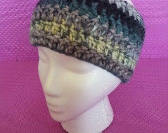 Multi colored crocheted Headband