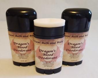 Dragon's Blood Deodorant, Aluminum Free Deodorant, Natural Deodorant, Chemical Free Deodorant, Artisan Deodorant