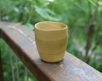 Reclaimed Poplar Wooden Bowl