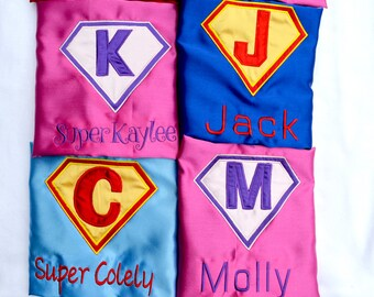 1st birthday outfit,Kids cape,superhero capes,kids costumes,brother sister capes,sibling superhero capes,embroidered superhero capes
