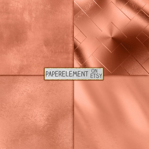 Rose Gold Backgrounds Rose Gold Digital Paper Metallic Rose