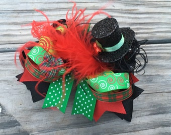 Over the top Christmas hairbow!