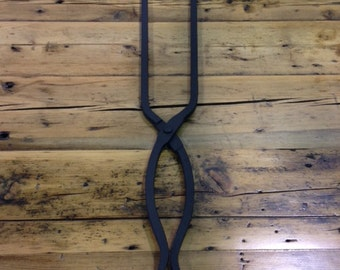 Fireplace Tools - Forged Collection Tongs