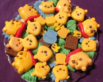 Honey Bear chocolates candy tray