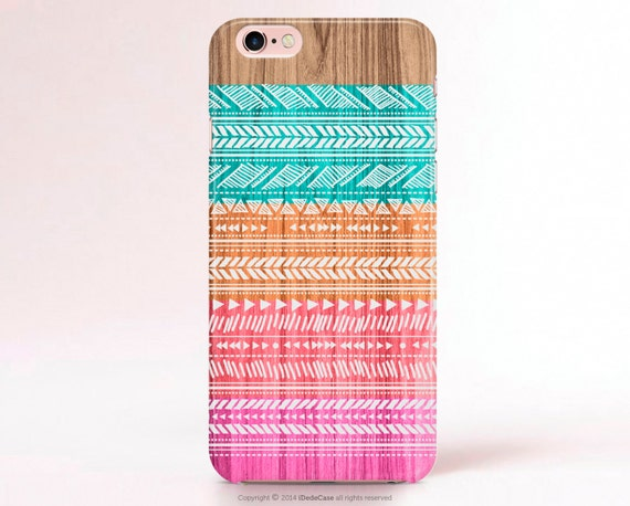 iPhone 7 Case Bohemian iPhone 6 Case Tribal iPhone 5s Case iPhone 6s Case boho iPhone 5 Case wood iPhone 6s Plus case iphone 6 Plus Case