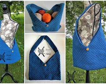 Market bag - crochet