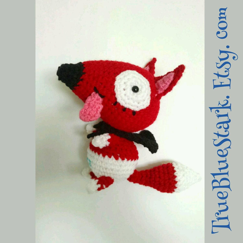 Baby Peg Toys : Baby fox stuffed toy inspired by peg cat cartoon handmade