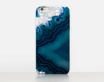 Crystal Marble Phone Case For- iPhone 8, 8 Plus, X, iPhone 7 Plus, 7, SE, 5, 6S Plus, 6S, 6 Plus, Samsung S8, S8 Plus, S7, S7 Edge