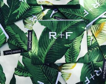 R+F Monogram Bag