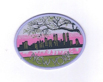 Vintage New York Skyline Patch