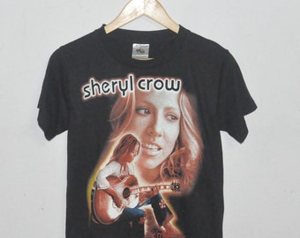 Vintage Sheryl Crow Country Rock T-Shirt (Womens)