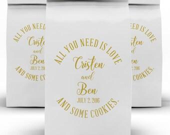 25+ Candy Bags, Cookie Bag, Dessert Bag, Candy Buffet, Cookie Favors, Wedding Favor, Smore Favors, Candy Bar, Popcorn Bag
