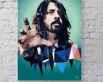 Learn to Fly - Dave Grohl portrait