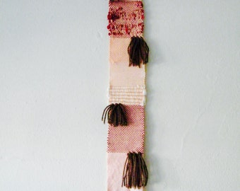 Patchwork Woven Wall Hanging Weaving