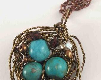 Birdsnest Necklace
