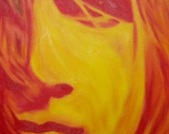 Dave Mustaine of Megadeth print from my original oil painting