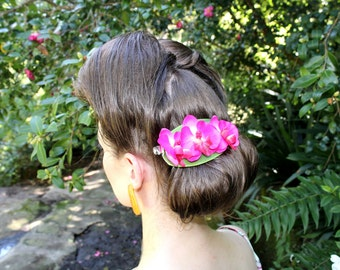Orchid Clip ~ Pink