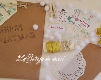 Christmas kit for DIY packages