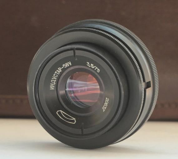 Industar-58U 3,5/75  MMZ #20637 Soviet  Enlarger Lens BeLomo