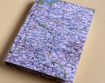 Germany Travel Journal with Pockets