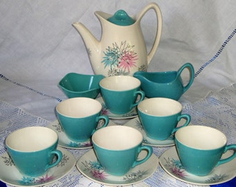 Midwinter Jessie Tait Coffee Set QUITE CONTRARY