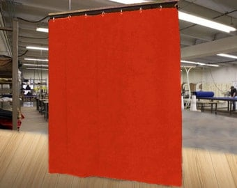 """Special Color Economy Stage Curtain/Backdrop/Partition, 15'H x 4'6""""W, Non-FR, Free Shipping!"""