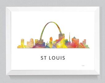 WB1 Skyline de St Louis, Missouri