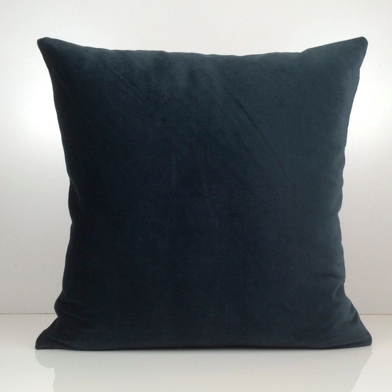 Throw Pillow Covers Teal : Dark Teal Pillow Throw Pillow Cover Decorative Pillow Cover