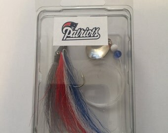 NFL TEAM Fishing Lure Patriots