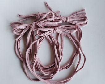 Light purple adjustable headband