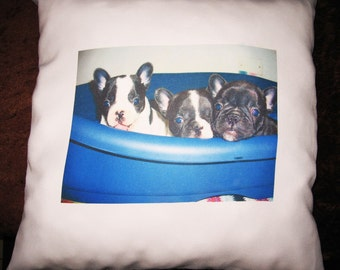 personalized pillow with your photos