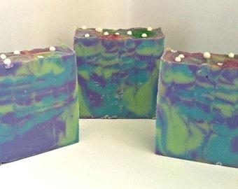 Soap- Bar Soap- Handmade Soap- Artisan Soap- Luxury Soap- Homemade Soap- Flirty Mermaid