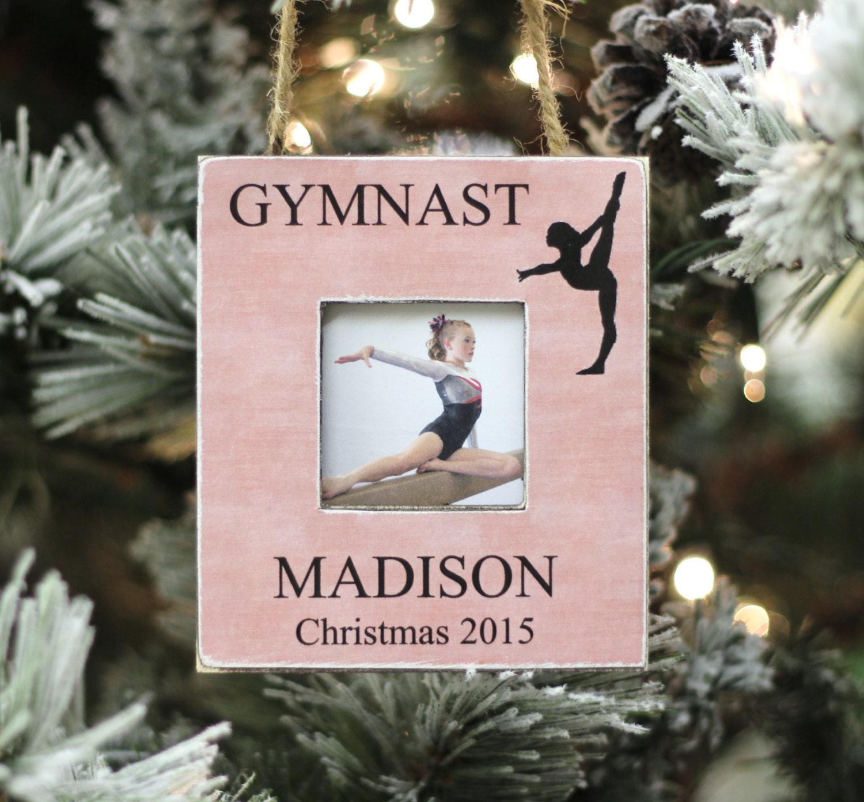Gymnastics ornament christmas - Gymnast Ornament Christmas Gift Personalized Photo Ornament For Gymnastics Gymnast Christmas Holiday Gift