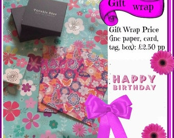 Gift Wrap Option available