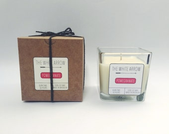 10 oz Pomegranate Soy Candle
