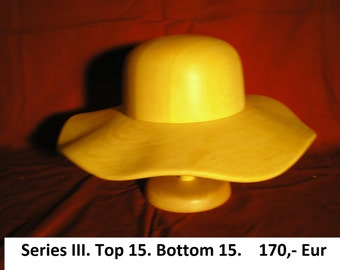 wooden hat block